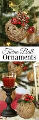 Christmas Decorations Diy by Best 25 Rustic Christmas Crafts Ideas On Pinterest Rustic