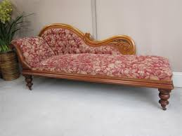 Chaise Lounge With Sofa Bed by Antique Carved Cedar Button Back Chaise Lounge Sofa Couch Day