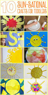Easy Halloween Arts And Crafts For Kids by Best 25 Sun Crafts Ideas On Pinterest Preschool Summer Theme