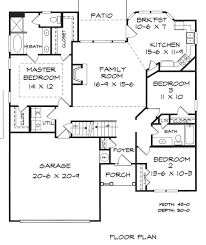 Builders Floor Plans Stovall B House Plans Home Construction Floor Plans Architectural