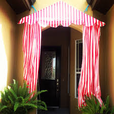 circus birthday party main entrance diy tent tablecloths from