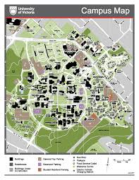 Bc Campus Map Maps Buildings U0026 Directions University Of Victoria