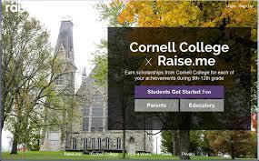 Why we still love Raise.me - <b>Cornell</b> College