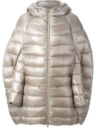 herno cocoon quilted jacket in natural lyst