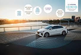 hyundai la auto show hyundai unveils ioniq self driving concept car