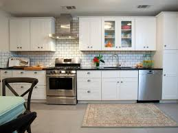 Country Kitchen Tile Ideas Kitchen Rustic Kitchen With Off White Scheme And Country Kitchen