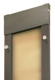 catflap in glass door amazon com ideal pet products fast fit cat flap patio door for
