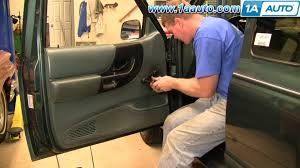 how to install replace remove window crank handle ford ranger