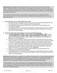 transfer agreement template band agreement template screen shot 2015 07 18 at 12 20 02
