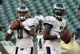 Michael Vick and Vince Young