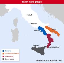 Map Of Italy Regions by Italian Mafia Who Are Cosa Nostra Camorra U0027ndrangheta And Sacra