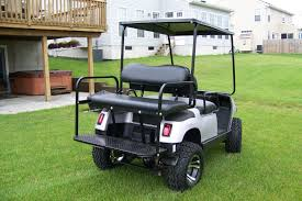 club cart back seat on club images tractor service and repair