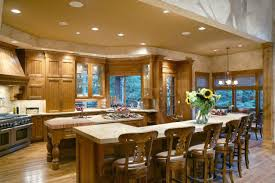 Ranch Home Plans With Pictures House Plans With Large Kitchens Large Kitchen Floor Plans Snaz