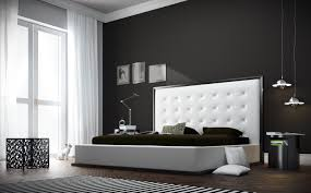 Bedrooms  Modern Leather Bedroom Furniture Pisa White Leather - White tufted leather bedroom set
