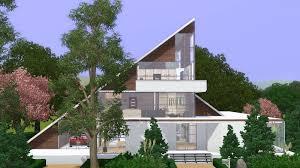 Home Modern The Sims 3 House Modern A Frame Family Home Youtube
