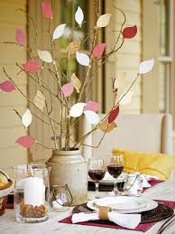 thanksgiving centerpieces kids room holiday table decorating ideas with craft decorations