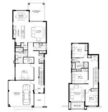 narrow lot double storey house designs perth apg homes violet