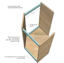 Building Kitchen Cabinet Boxes Ana White Build A Wall Kitchen Corner Cabinet Free And Easy