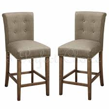 decor wicker back boston bar stool with padded seat for home