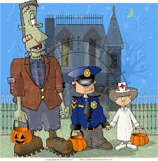 haunted house clipart kids halloween pencil and in color haunted