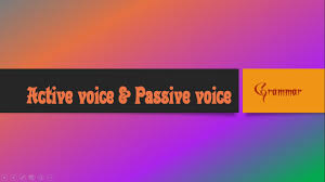 Change Active Voice To Passive Voice Worksheets Passive Voice To Active Voice Grammatical Voice Tamil Simple