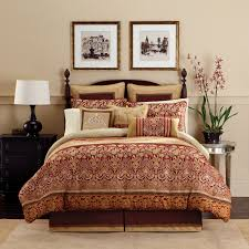Red King Comforter Sets 39 99 For The Queen Renaissance Comforter Set Unbelievable Deal