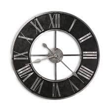 dearborn 32 u2033 wall clock by howard miller hom furniture