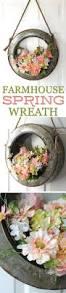 257 best spring wreaths images on pinterest spring wreaths
