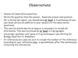 How do you write a conclusion for a chemistry lab report     SlideShare
