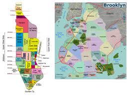 Brooklyn New York Map by Brooklyn Neighbourhoods Toronto U2013 U003e New York City