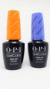 an opi gel nail polish manicure guest post by brokemynail