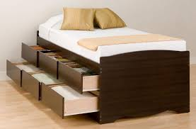King Platform Bed Plans With Drawers by Wooden California King Bed Frame With Drawers California King