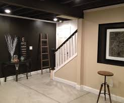 Black Ceiling Basement by Best 25 Industrial Basement Ideas On Pinterest Industrial