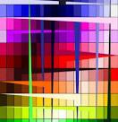 XOO.me :: Geometric Lines Rainbow Abstract Background