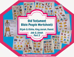 bible fun for kids old testament people lesson list u0026 links