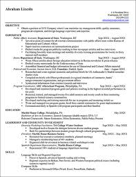 Sample Volunteer Resume  resume template objective lines for     Documents