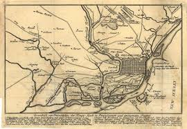 Map Of The New England Colonies by 1775 To 1779 Pennsylvania Maps