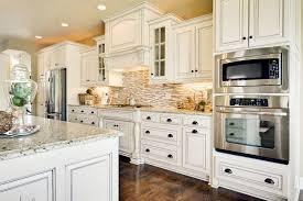 granite countertop white pantry cabinets for backsplash for