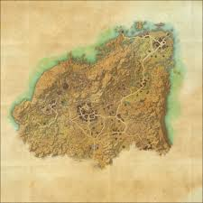 Coldharbour Ce Treasure Map Tes Online Map Of Rivenspire