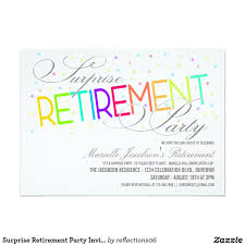 Retirement Function Invitation Card Party Invitations Terrific Surprise Retirement Party Invitations