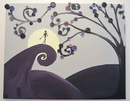 nightmare before christmas party disney pinterest button