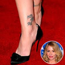 Christina Applegate Tattoo