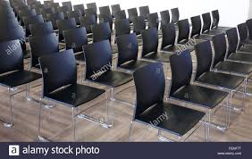 modern conference room table empty chairs in a modern conference room shallow depth of field