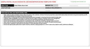 sales associate level resume sample perfect resume cv resume retail sales associate job description