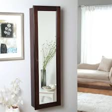 Desk Armoire Armoires With Shelves Cool Hanging Jewelry Armoire Mirror Wall