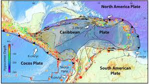 Tectonic Plate Map Caribbean Sismi Sm Jpg