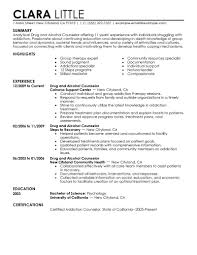 Administrative Assistant Resume Objective Examples by Download Counseling Resume Haadyaooverbayresort Com