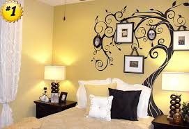 Bedroom Wall Decals Trees Uncategorized Bedroom Decorations Decal Stickers Pretty Awesome