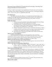 Annotated Bibliography Motivation   Leadership Ayanlarkereste com