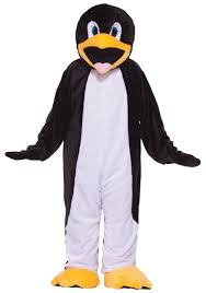 tiger halloween costumes deluxe penguin costume mascot animal halloween costumes